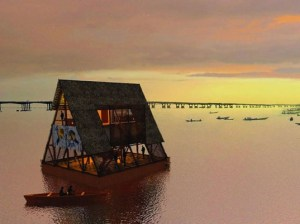 Floating School 300x224 Eco Friendly Floating Schools in Flood Prone Coastal Nigeria Developed by Visionary Architect