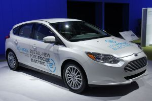 Ford Focus Electric WAS 2012 0534 300x200 Electrified Vehicles 25% of Fords Sales by 2020