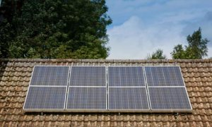 Solar panels on a bungalo 008 300x180 Renewable Energy Industry Expanding Rapidly and Attracting Investors