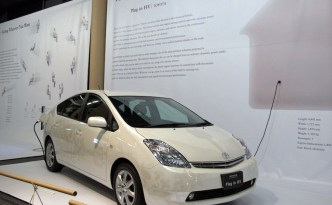 Toyota Prius Plug-In Hybrid Vehicle in the UK
