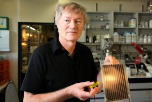 michael gratzel 300x202 Record Efficiency for Organic Solar Cells Obtained by Michael Gratzel
