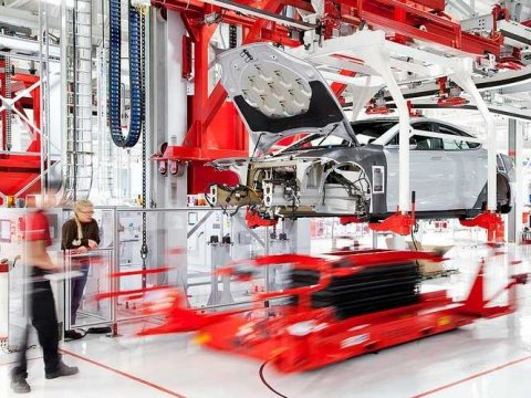 tesla motors manufacturing Tesla Motors and Panasonic Corporation Agreement Points to Mass Production
