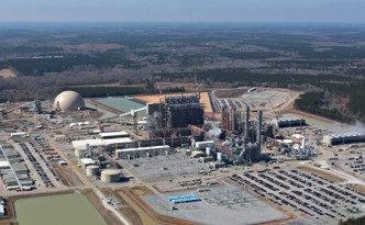 Kemper County energy facility aerial view
