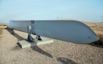 Wind turbine blade can be extended to improve efficiency without replacing anything else.