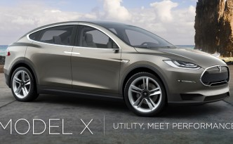 Tesla Model X Set for Spring 2015 Production