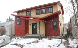This Net Zero Home, in Edmonton, Alberta, Canada, no less, requires no fossil fuels for its operation.