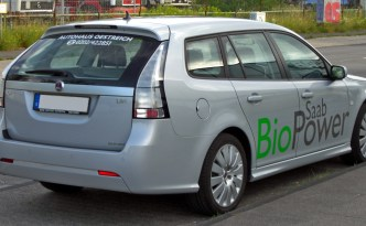 Saab 9-3 SportCombi 1.8t BioPower Facelift rear by Luftfahrrad - Own work. Licensed under CC BY-SA 3.0 via Wikimedia Commons