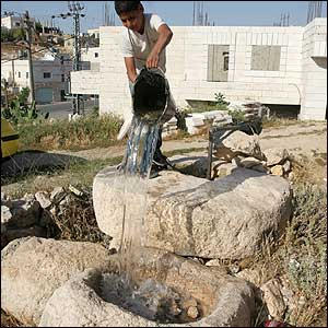 A Green Prophet Finds West Bank In Water Crisis Too!