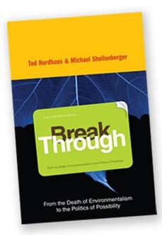 Rabbi Julian Sinclair on 'Breakthrough' by Nordhaus and Shellenberger