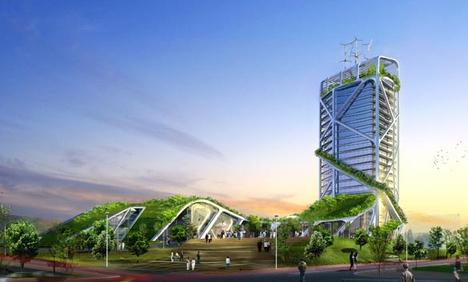 chong qing tower photo ken yeang