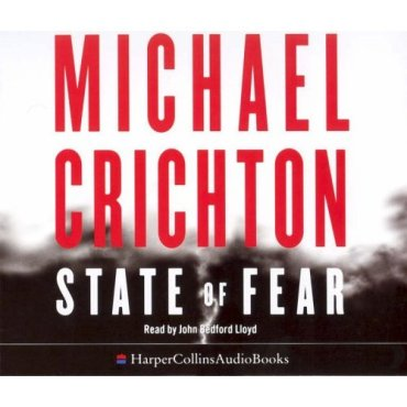 Leora gets to grips with Michael Crichton's 'State Of Fear'