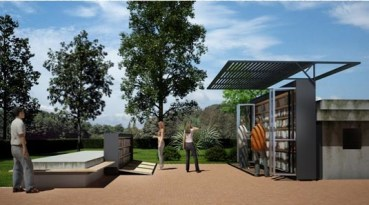 """A Model """"Garden Library"""" For Urban Environments in Transition"""