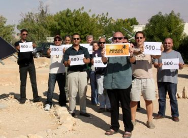"Arava Power to ""Electrify"" the Negev Desert After Signing 15 Solar Energy Deals"