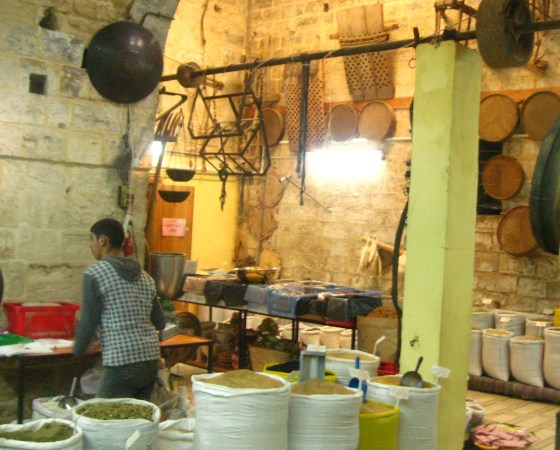 spice store Nazareth Israel