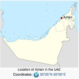 ajman province UAE