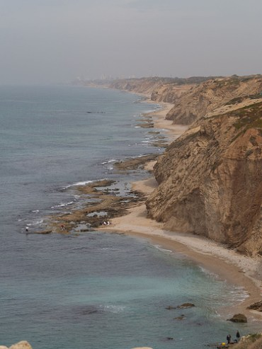 Israel Plans Wind-Powered Lighting for Coastal Highway, Takes Initial Step to Buttress Shoreline Cliffs