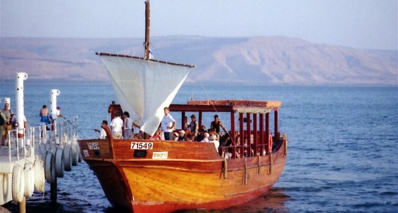 sea of galilee fishing boat