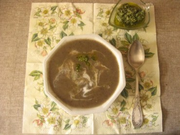 RECIPE: Creamy Eggplant Soup