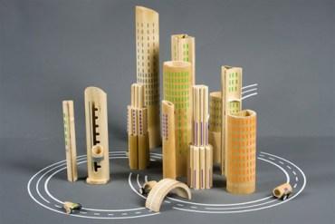 Bamboo by Israeli designers like Daniel Fintzi