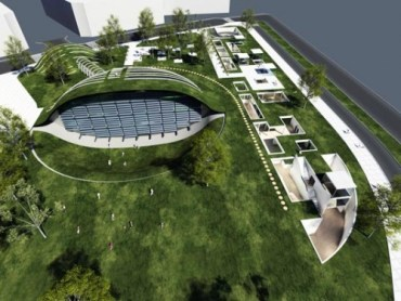 Globe Ecological Hub Recently Proposed for Israeli City of Modiin