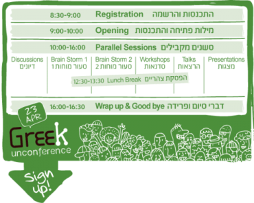 Green Geeks Network Launches Its Second Unconference in Tel Aviv