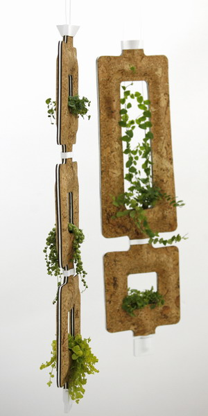 Making the (Urban) Jungle Grow: Israeli Designer Kobi Nakav Proposes a New Square Hanging Plant