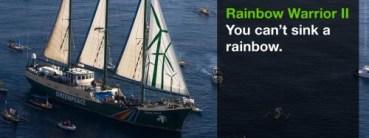 Greenpeace's Flagship, the Rainbow Warrior, to Grace Tel Aviv and Haifa's Harbors