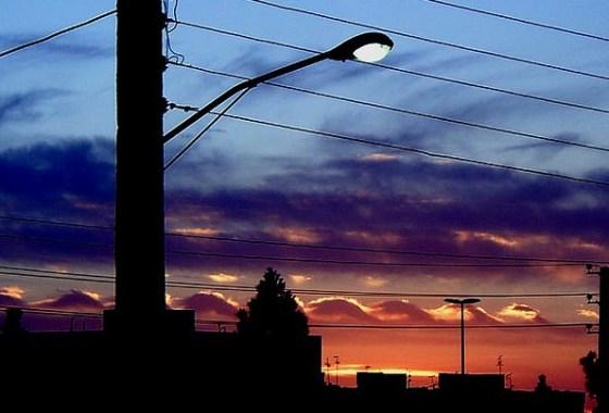 tehran streetlights solar energy iran