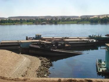 Barge Sinks In The Nile, Releasing 110 Tonnes Of Diesel Fuel