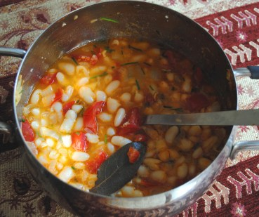 Vegetarian Haricot Bean Stew Recipe