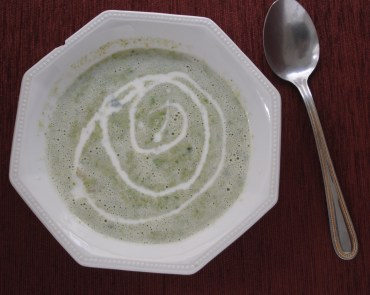 RECIPE: Spinach and Mushroom Soup
