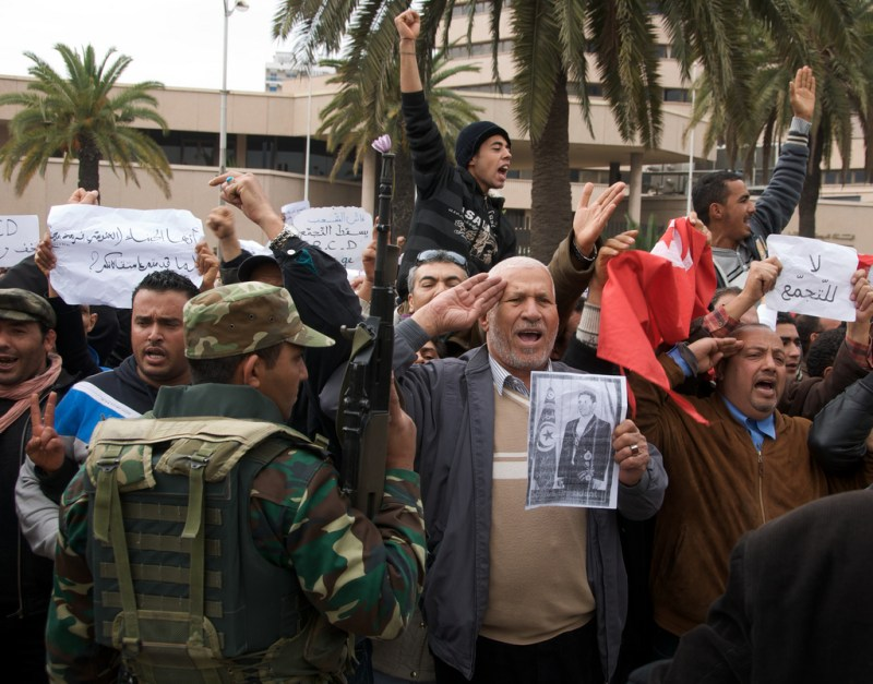 Arab Protests Affect World Food Prices