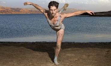 Israel's Ambassador Of Dance Ido Tadmor Performs For The Dead Sea