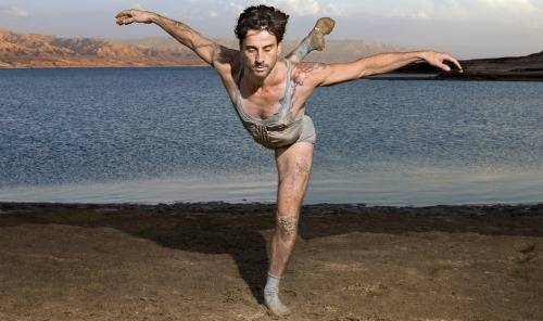 Israel's Ambassador Of Dance Ido Tadmor Performs For The Dead Sea