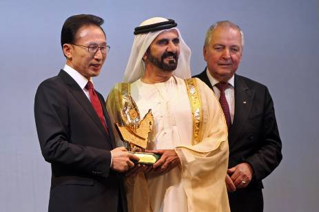 South Korean President Receives Zayed Prize For Global Environmental Leadership