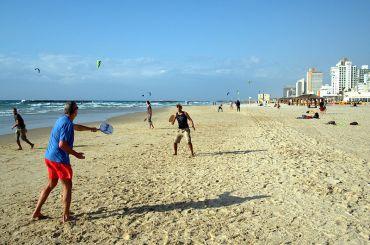 Plans To Rehab Israel's Dunes Will Expand Mediterranean Beach Fun Too