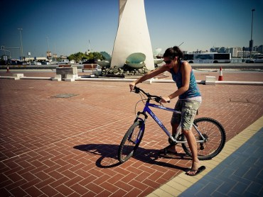 Abu Dhabi Cyclists Are A Riding Target
