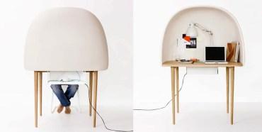 Rewrite's Soft and Cozy Study Bubble by GamFratesi