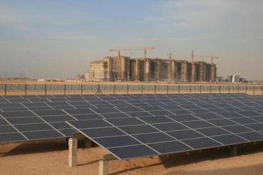 Masdar's 10 MW Solar Plant Takes 3,300 Cars Off the Road