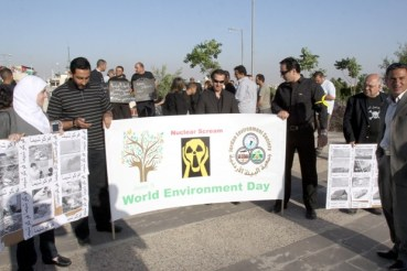 Protest Against Nuclear Power In Jordan
