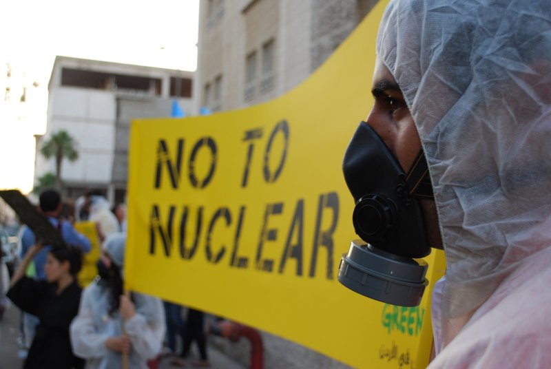 Jordanians Step Up Nuclear Protests