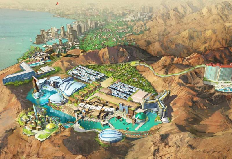 Jordan's Crazy Star Trek Park Will be a Cleantech Showcase
