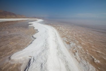 Protests Over Shrinking Salt Lake Continue In Iran