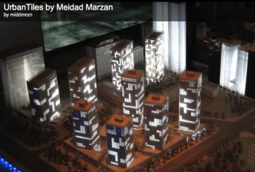 Marzan's Luminescent Future Cityscapes With Solar OLEDs