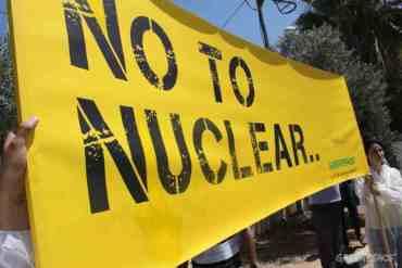Greenpeace Raises More Questions Over Jordan's Nuclear Plans