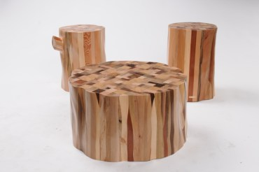 Studio Ubico's Furniture Collection Reincarnates Wood Into Trees