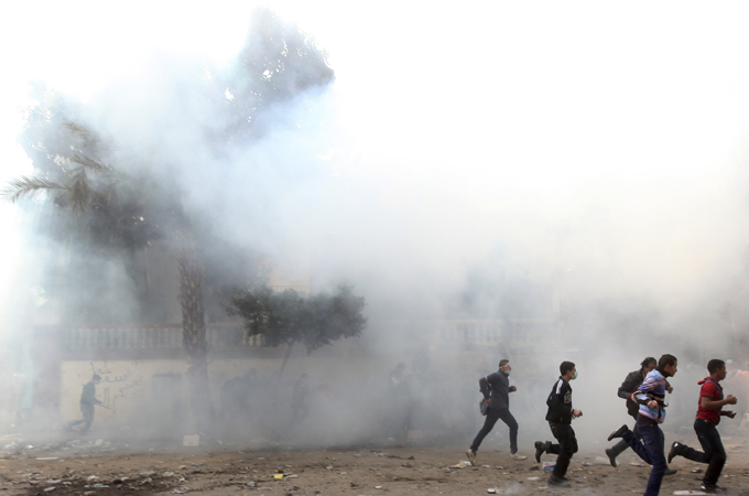 Egypt's Military May Be Using Lethal Teargas