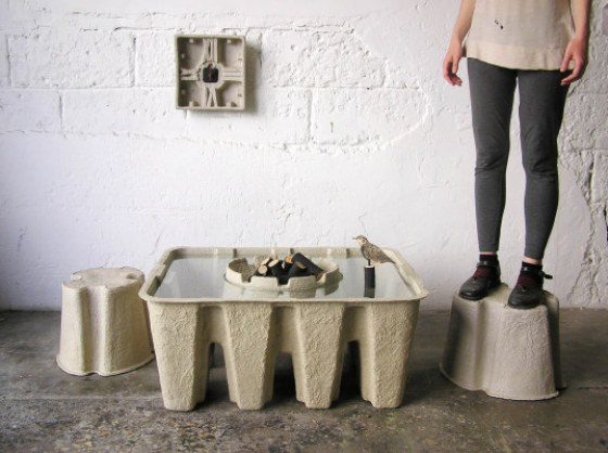 """""""recycled paper furniture"""""""