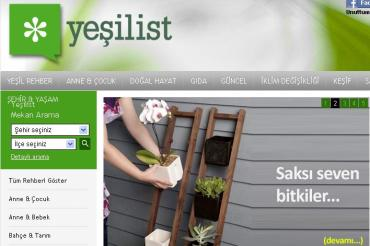 Turkey's First Green Lifestyle Website Yeşilist, Now Bilingual