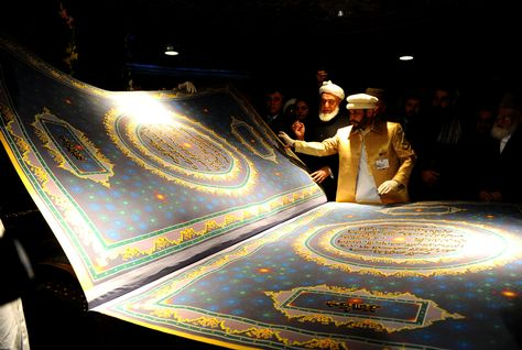 World's Largest Quran is Bound With the Skin of 21 Goats